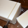 Cutting of Fat Ash Lavender Bar Soap