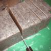 Cutting of Fat Face Exfoliating Bar Soap